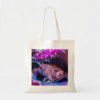 Swimmer Crab (Lissocarcinus laevisMiers, 1886 ) Tote Bag