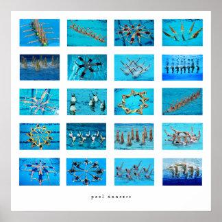 swimmer gift ideas poster