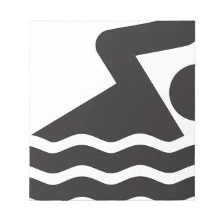 Swimmer Notepads
