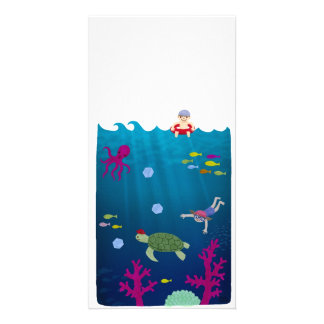 Swimmer Photo Greeting Card