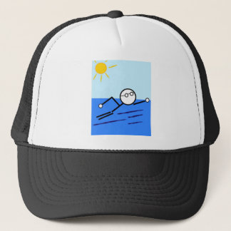 Swimmer Trucker Hat