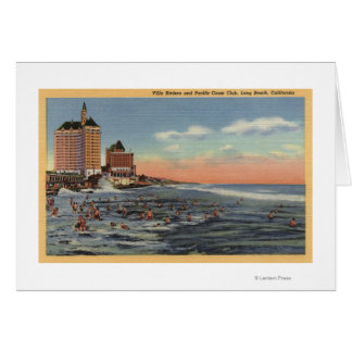 Swimmers by Villa Riviera & Pacific Coast Club Card