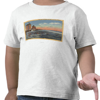 Swimmers by Villa Riviera & Pacific Coast Club Tees