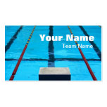 SWIMMERS PROFILE OR BUSINESS CARD TEMPLATE
