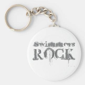 Swimmers Rock Key Chain
