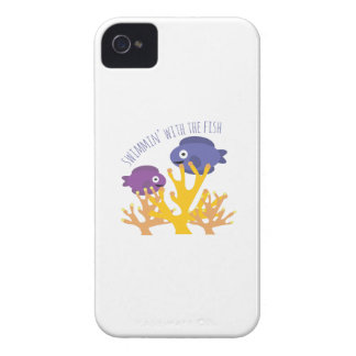 Swimmin' With The Fish Case-Mate iPhone 4 Cases