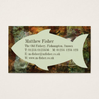 Swimming Against the Tide Business Card