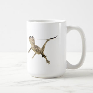 Swimming Alligator on White Background Mug