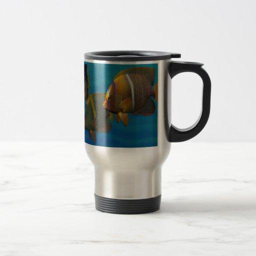 Swimming Angelfish Coffee Mug