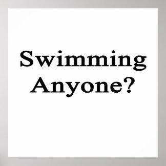 Swimming Anyone? Poster