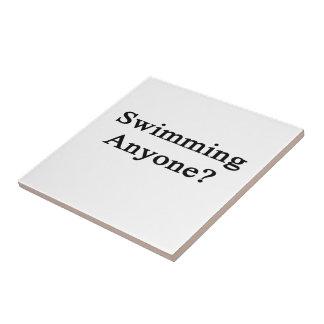 Swimming Anyone Ceramic Tiles