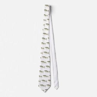 Swimming Bass Tie