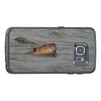 Swimming Beaver OtterBox Samsung Galaxy S6 Edge Case