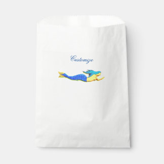 swimming blue-tailed mermaid Thunder_Cove Favour Bags