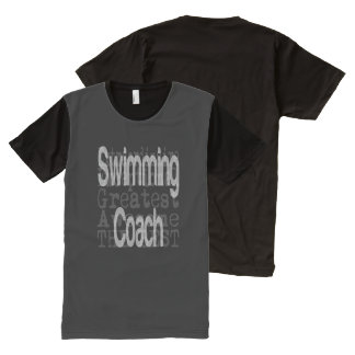 Swimming Coach Extraordinaire All-Over Print T-Shirt