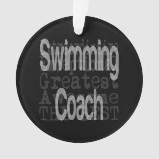 Swimming Coach Extraordinaire Ornament
