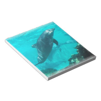 Swimming Dolphin Notepad