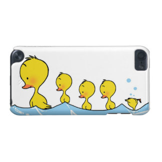Swimming duck family iPod touch (5th generation) covers