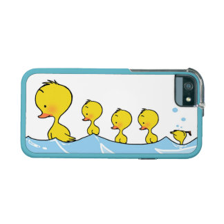 Swimming duck family iPhone 5/5S covers