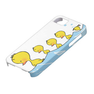 Swimming duck family case for the iPhone 5