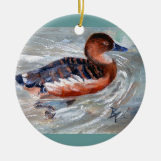 Swimming Duck Ornament