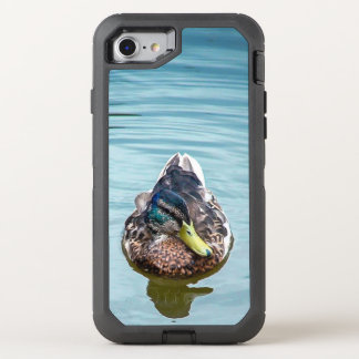 Swimming Duck OtterBox Defender iPhone 8/7 Case