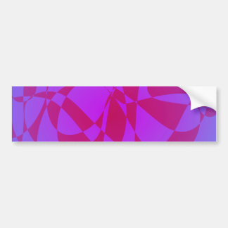 Swimming Fantasy Bumper Sticker