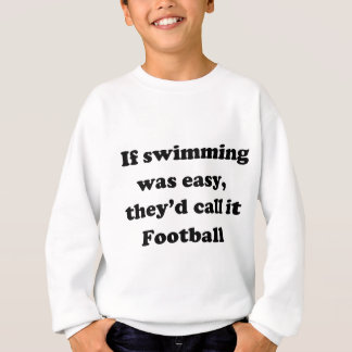 Swimming Football Sweatshirt