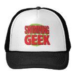 Swimming Geek Hat