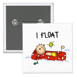 Swimming Gift Pinback Button