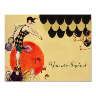 Swimming Girl ~ Invitation