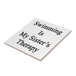 Swimming Is My Sister s Therapy Tiles
