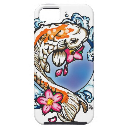 Swimming Koi Cover For iPhone 5/5S
