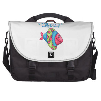 SWIMMING LESSONS LAPTOP BAGS