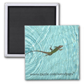 Swimming Lizard Magnet