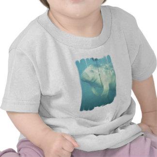Swimming Manatee Baby T-Shirt