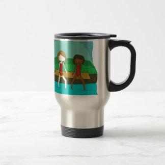 Swimming Coffee Mugs