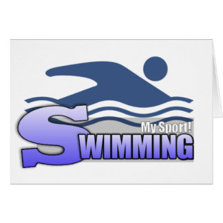 SWIMMING MySport Cards