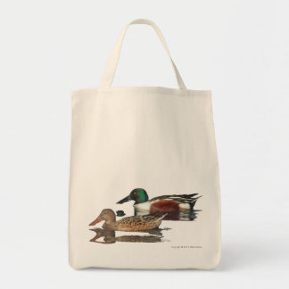 Swimming Northern Shovelers Bag