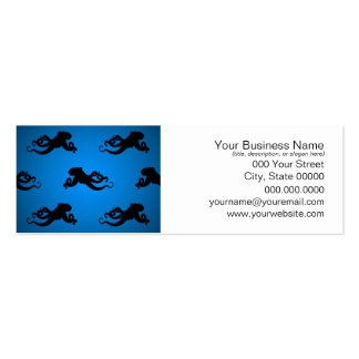 Swimming Octopus Silhouettes Business Cards