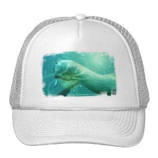 Swimming Otter Baseball Hat