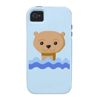 Swimming Otter. iPhone 4/4S Cases