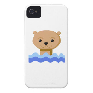 Swimming Otter. iPhone 4 Cases