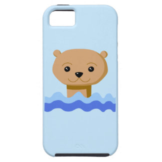 Swimming Otter. iPhone 5 Case