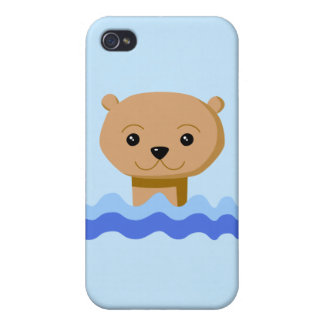 Swimming Otter. iPhone 4 Case