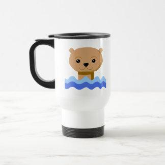 Swimming Otter. Mug