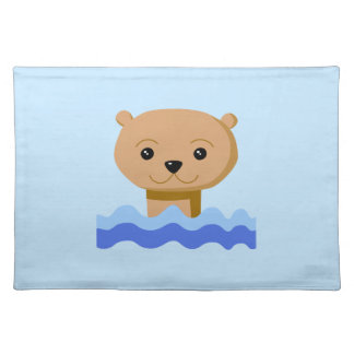 Swimming Otter. Placemat