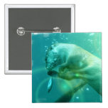 Swimming Otter Square Pin
