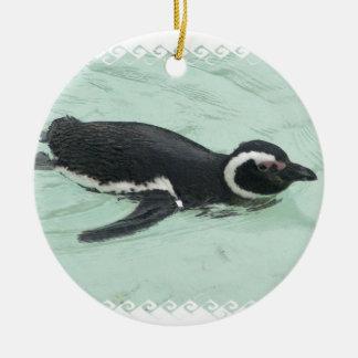 Swimming Penguin Ornament