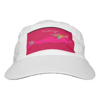 swimming pink mermaid hat